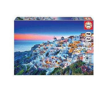 Educa Puzzle Educa Santorini - 1500 pièces