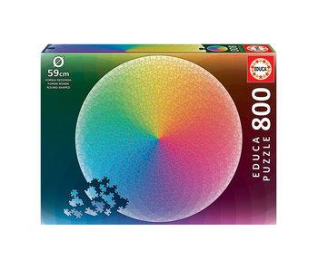 Educa Puzzel Educa Cirkel regenboog - 800 stukjes