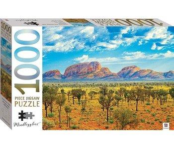 Puzzle Parc National Uluru-Kata Tjuta, Australie - 1000 pièces