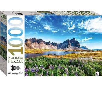Puzzle Cap Stokksnes, Islande - 1000 pièces