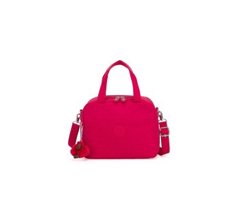 Kipling Lunchtas true pink  25x20x13,5D cm