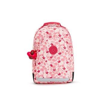 Kipling Class Room  Pink Leaves -  28 L - 29x43x24cm - Rugzak met laptopvak