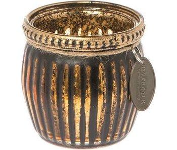Riverdale Sfeerlicht Glam Stripe Brons 7 cm