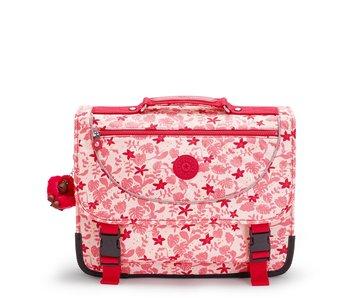 Kipling Preppy Pink Leaves - 30x41x18 cm - boekentas