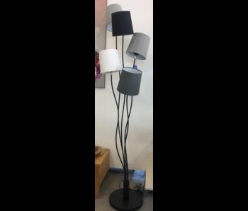 Lumi vloerlamp zwart 45x180 cm - E14
