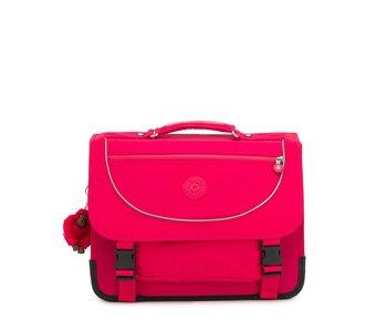 Kipling Preppy true pink  - 30x41x18 cm - boekentas