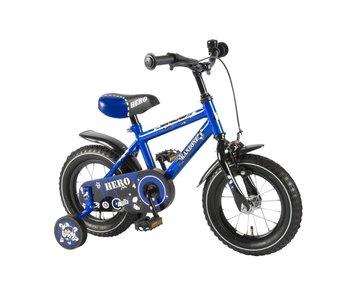 Hero kinderfiets Blauw - 12 inch