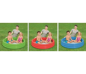 Bestway Play Pool Dia.122xH25  - Verschillende kleuren