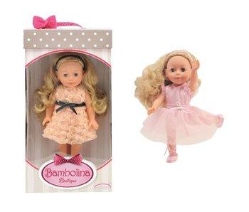 Pop Molly boutique 30 cm met lang haar-effen kleedje