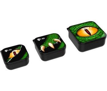 Lunch Buddies - 3 in 1 doosjes / dino