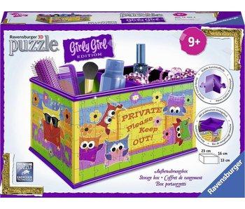 Ravensburger Puzzle Ravensburger 3D Funky Owls Boîte de Rangement - 216 Pièces