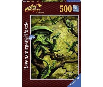 Ravensburger Puzzle Ravensburger Dragon de la Forêt  - 500 pièces