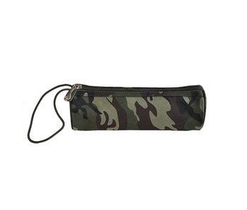 Trousse ronde - Camouflage - trousse