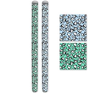 Kaftpapier  2mx70cm - Noah  - blauw