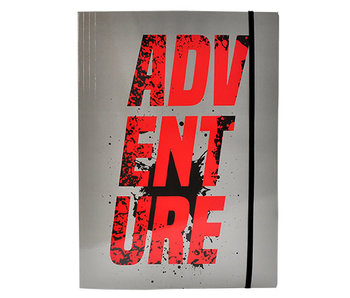Farde élastiquée - Aventure - A4