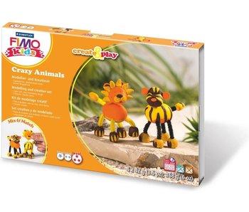 Fimo Kids Leeuw & Tijger - Create & Play