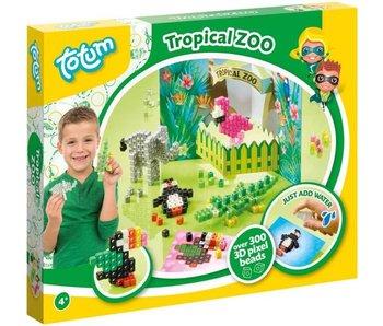 Totum Tropical zoo - 3D Pixel Beads