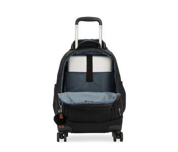 ZEA zwart - 26L - 35x50x21 cm - grote kinderrugzak  met wielen
