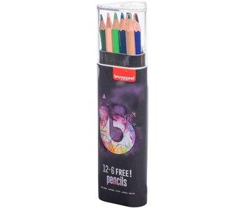 Crayons ados assortis light