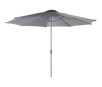 Salou Parasol dia 300 cm - antraciet