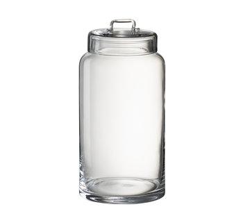 Voorraadpot Hoog Glas Transparant