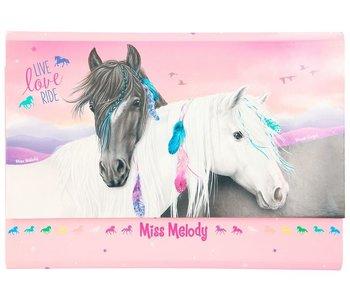 Miss Melody briefpapier