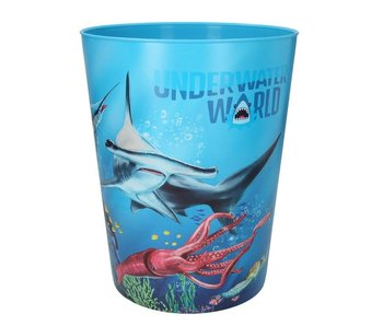 Dino World prullenbak - haai