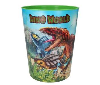 Dino World prullenbak - dino