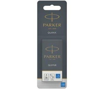 2 x 5 Inktpatronen Blauw Parker
