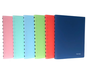 Ringpresentatiealbum A4 met 40 Insteekmapjes FC - verschillende kleuren