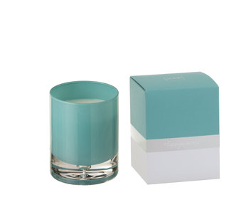 J-Line Geurkaars Glas Azuur Small