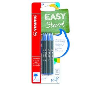 Stabilo Move Easy Refill Blauw 6 Pcs