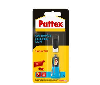 Pattex Secondenlijm Super gel 3 gr