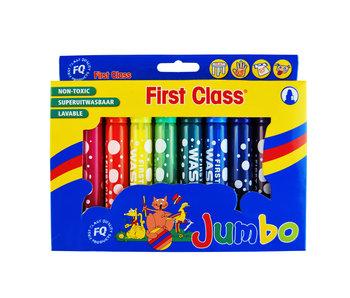 Stiften Jumbo 10 st  uitwasbaar