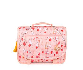 STONES and BONES Lily - balloons pink - boekentas