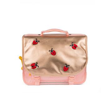 STONES and BONES Lily PL - ladybugs pink - boekentas