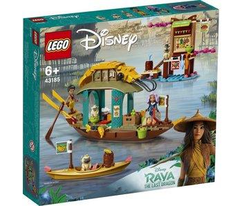 LEGO 43185 Disney Raya et le bateau du dernier dragon Boun