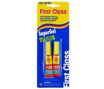 FC secondenlijm super gel 2X3 gr