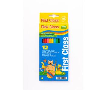 Crayons de couleur 12 Longs