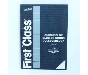 Cursusblok A4 100 Bladen Gelijnd 70 gr FC