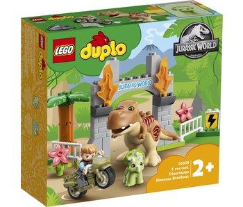 LEGO 10939 Duplo Évasion de dinosaures T-rex et Triceratops