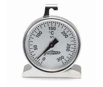 Oventhermometer inox diameter 6.5 cm