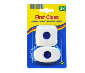 Set de 2 gommes - carré + rond