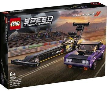 LEGO 76904 Champions de vitesse : Mopar Dodge/SRT Dragster & Dodge Challenger T/A 1970