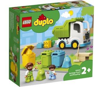 10945 Duplo : camion poubelle et recyclage