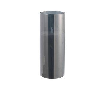 Ledlamp Blinkend Glas Grijs Large