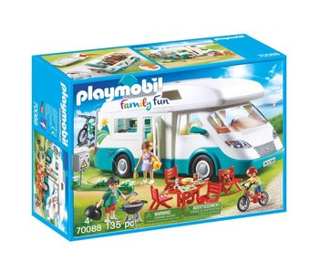 Playmobil 70088 Mobilhome met familie