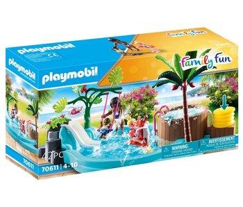 Playmobil 70611 piscine pour enfants avec bain à remous