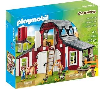 Playmobil 9315 Ferme avec silo