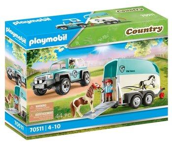 Playmobil 70511 Voiture avec remorque